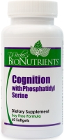 Cognition w/Phosphatidyl Serine, 100mg, 60 softgels